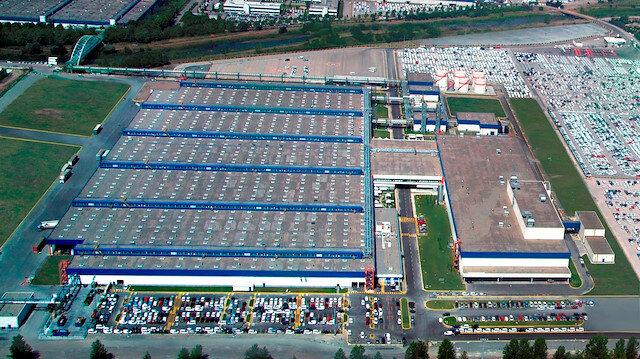 Ford Otosan fabrikası.