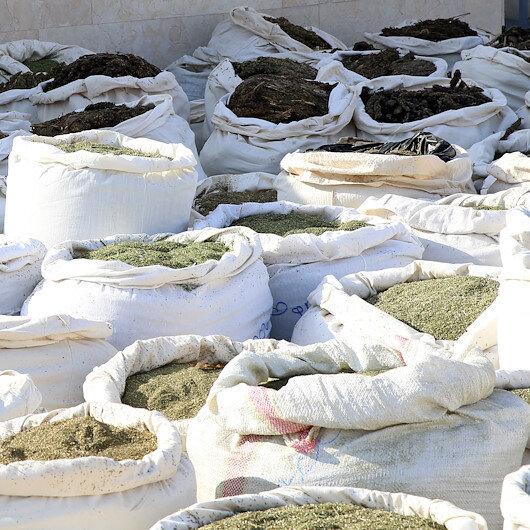 Diyarbakır'da 5 ton 209 kilogram esrar ele geçirildi
