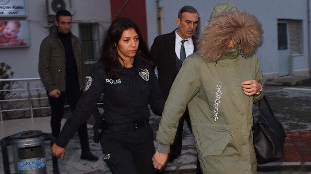 Zahide Üner, Muğla'da sahte kimlikle yakalandı.