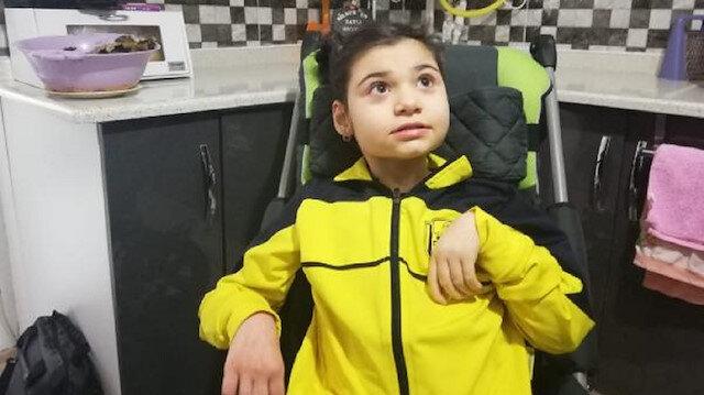 40 günlükken misafir öptü: Engelli oldu