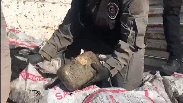 Van'da 69 kilogram esrar ele geçirildi
