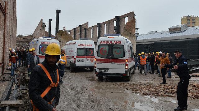 Adana'da Restorasyonu Yapılan Müzenin Duvarı Çöktü ile ilgili görsel sonucu