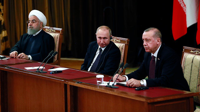 Liderlerden Soçi Zirvesi sonrası açıklama: Terör koridoruna izin vermeyiz
