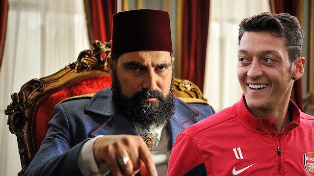 Payitaht Abdülhamit hayranı olan Mesut Özil'e Bülent İnal'dan mesaj