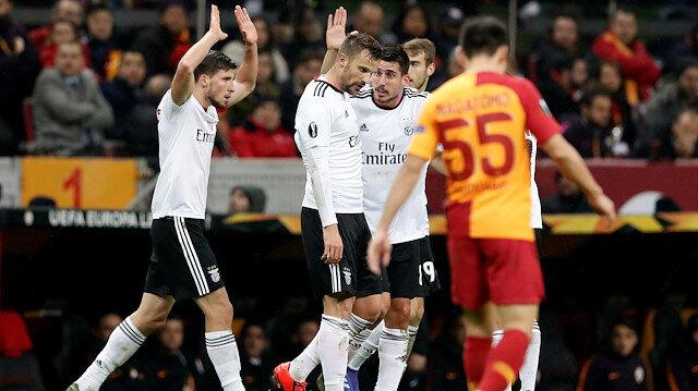 Galatasaray-Benfica: 1-2