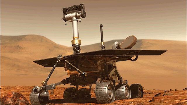 Opportunity 15 yıl Mars yüzeyinde görev yaptı.