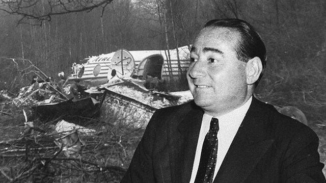 Adnan Menderes'in Londra uçak kazası