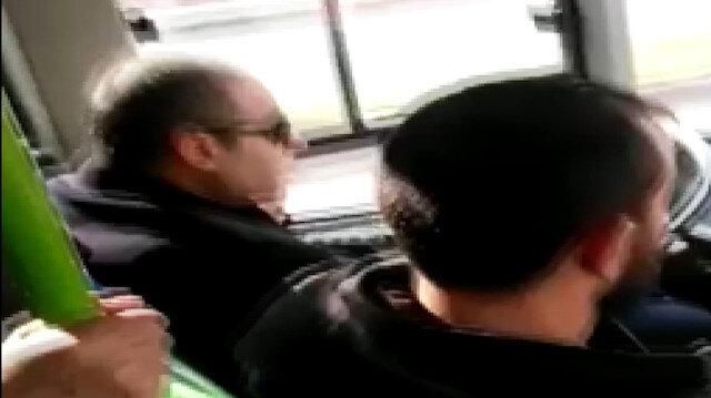 Seyir halinde telefonla konuşan şoföre ceza