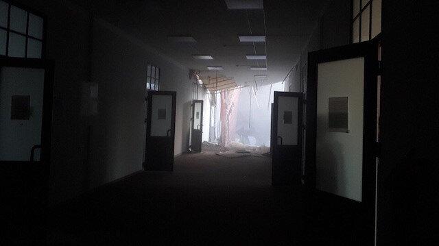 Rusya'da üniversitenin bir bölümünde çökme meydana geldi