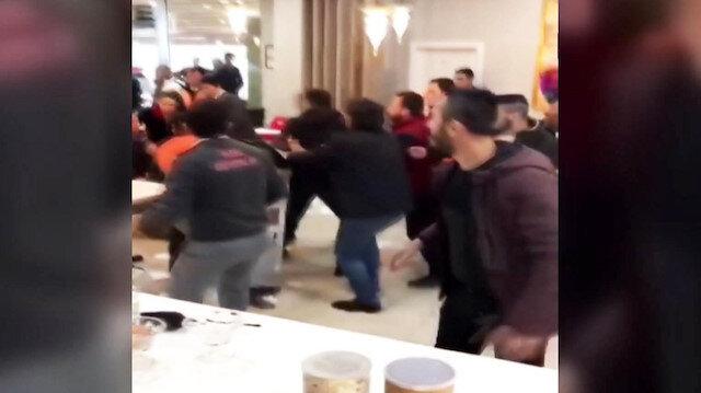 Kafede iki grup birbirine girdi: 3 kişi bıçakla yaralandı