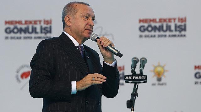 Erdoğan: Terör koridorunu yıkacağız