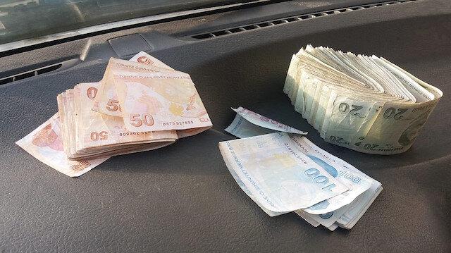 Yıkamaya verilen yorganın içinden bir deste para çıktı