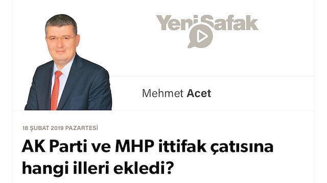 AK Parti ve MHP ittifak çatısına hangi illeri ekledi?