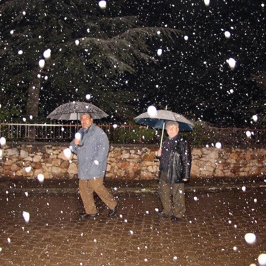 Meteorolojiden Orta ve Doğu Karadeniz için kar yağışı uyarısı