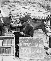 Eşekli kütüphaneci:Mustafa Güzelgöz