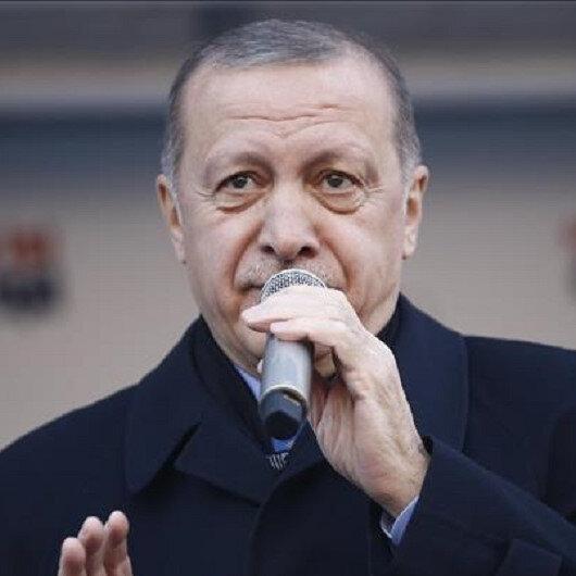 الرئيس أردوغان: سنطهر حدودنا الجنوبية من الإرهاب