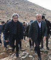 Çavuşoğlu Nöbet dizisini ziyaret etti