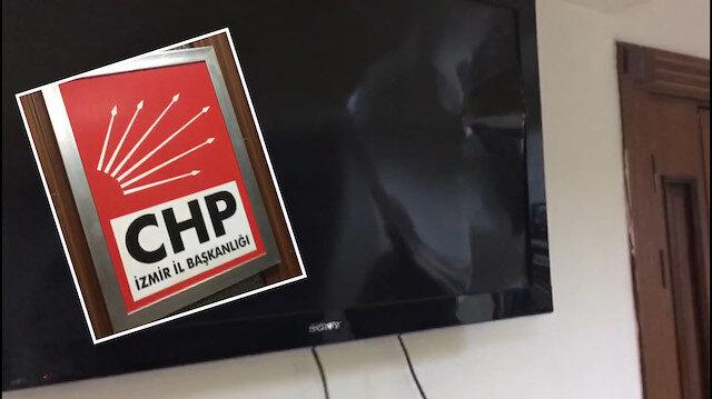 CHP İzmir İl Başkanlığı karıştı: Öfkelerini televizyondan çıkardılar