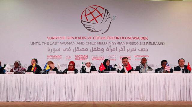 NGO demands release of imprisoned Syria women, children
