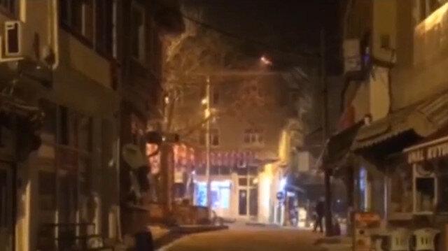 Depremde 10 ev yıkıldı