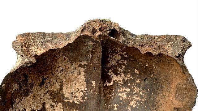 5 bin 600 yıllık kafatası bulundu