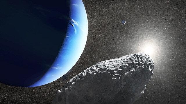 Araştırmacılar, 34 kilometre çapındaki mini uydunun, Neptün'ün en dış yörüngesindeki Proteus'un daha önce bulunduğu yerde olduğunu kaydetti.