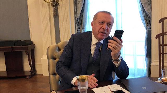 Erdoğan, Bakan Akar'la kış tatbikatına ilişkin telefonda görüştü