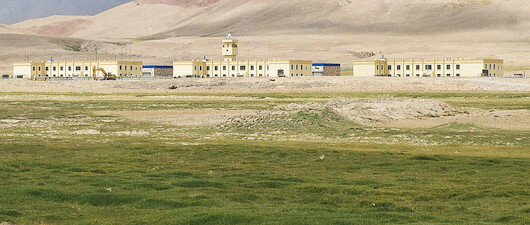 Afganistan sınırına Çin Seddi