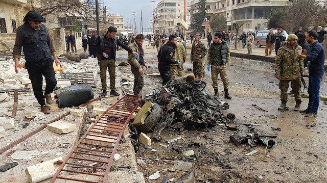 Afrin'de patlama: 1 çocuk öldü, 20 yaralı