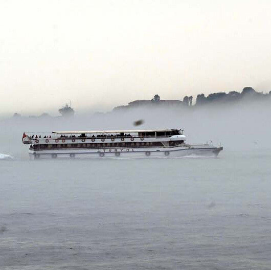 İstanbul'da ulaşıma sis engeli