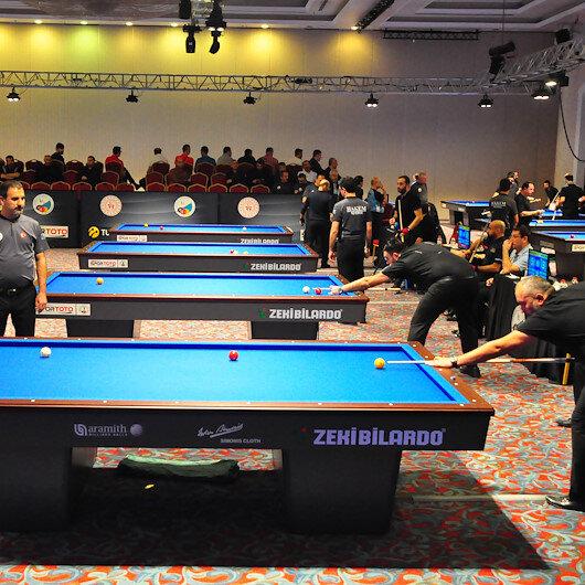 بطولة تركيا للبلياردو تنطلق في أنطاليا