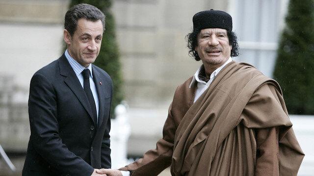 Sarkozy'nin Kaddafi'den 8 milyon dolar aldığı ortaya çıktı