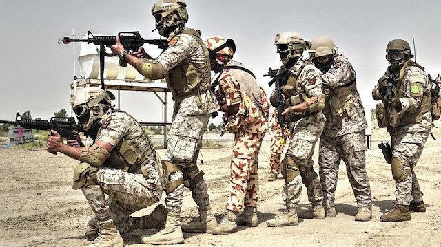 Katar Suudi Arabistan'daki askeri tatbikata katıldı