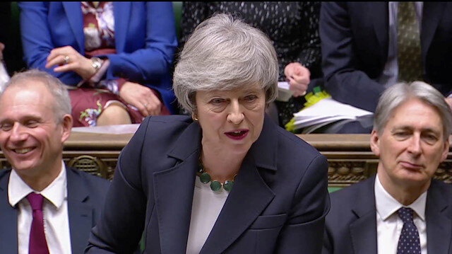 Work continuing 'at pace' on changes to Brexit deal: UK PM May's spokeswoman