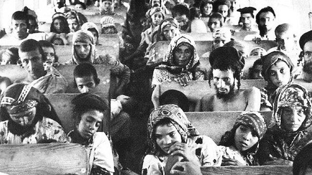 """1948-1950 yılları arasında """"Uçan Halı (Magic Carpet)"""" adlı operasyonla 60 bin Yemenli Yahudi uçaklarla İsrail'e taşındı."""