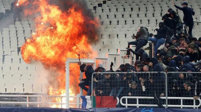 AEK'ya ertelemeli men cezası
