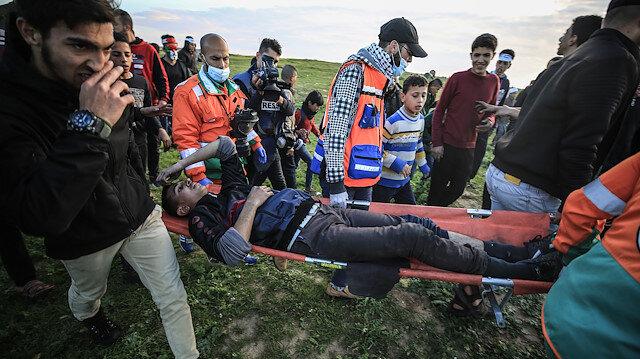 İsrail işgal güçleri Gazze'de saldırdı: Bir çocuk şehit