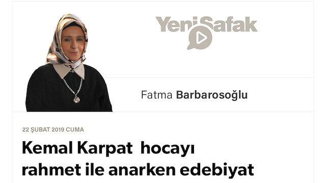 Kemal Karpat hocayı rahmet ile anarken edebiyat sosyolojisi için bir dipnot
