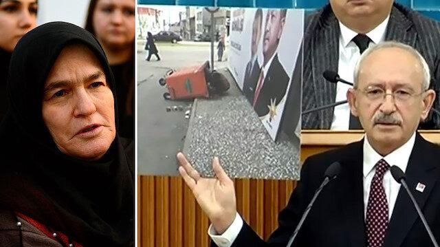 Çöp topladığı iddia edilen kadın Kılıçdaroğlu'ndan şikayetçi oldu