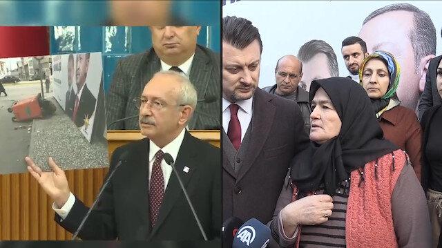 Kılıçdaroğlu'nun 'çöpten ekmek topluyor' dediği kadın şikayetçi oldu