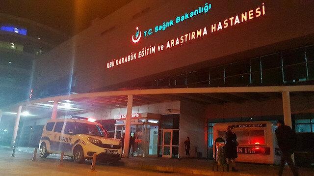 Zehirlenen vatandaşlar hastanede tedavi altına alındı.