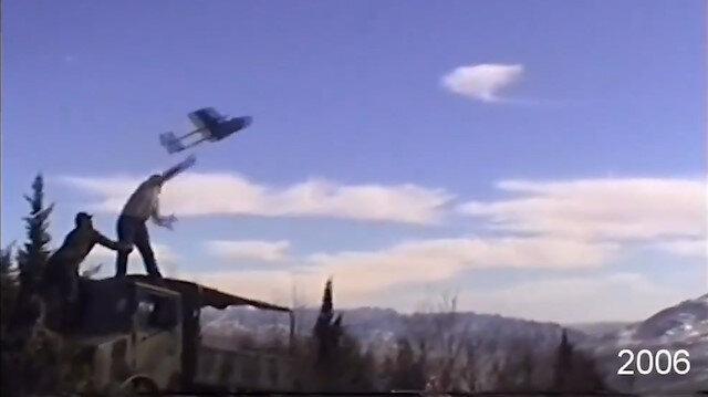 Mini İHA'ların 2006'dan bu yana uçuş evreleri beğeni topladı