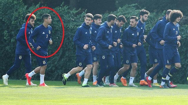 Fenerbahçe antrenmanında sürpriz isim
