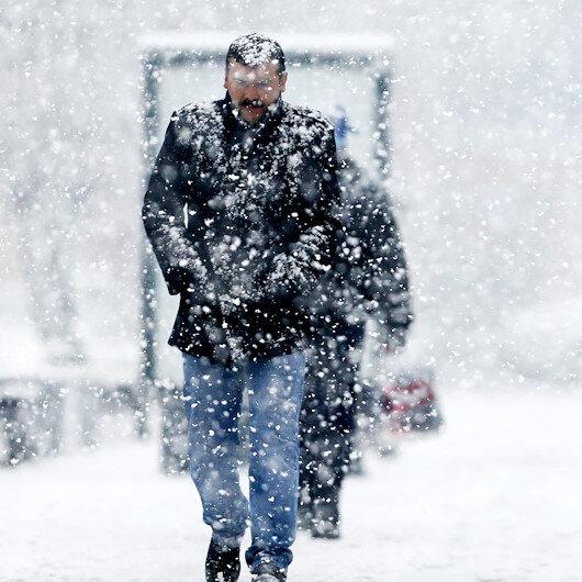 6 ile yoğun kar yağışı uyarısı