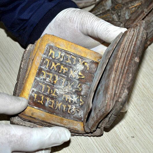 Osmaniye'de İbranice el yazmalı kitap ele geçirildi