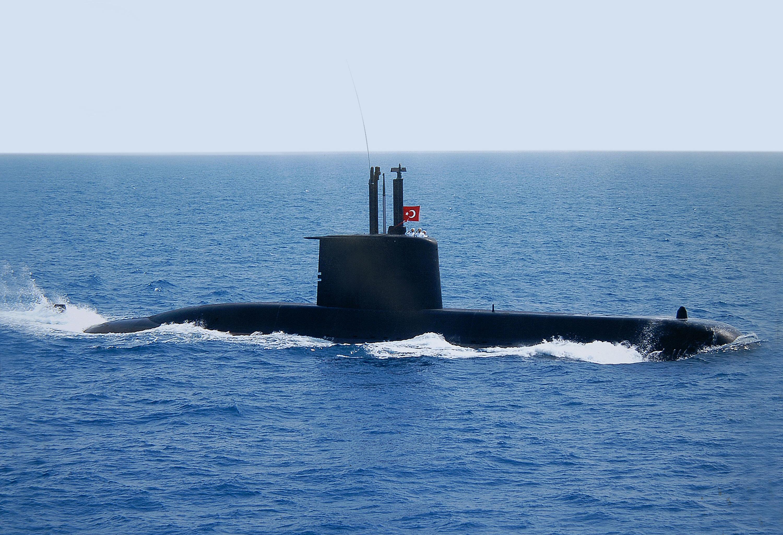 Preveze sınıfı denizaltı.