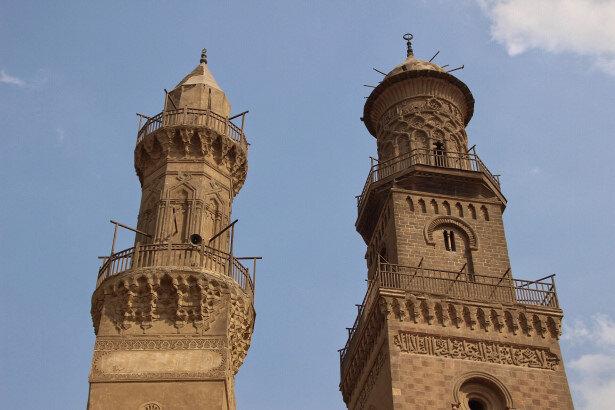 Memlük minareleri, sıra dışı mimarileriyle dikkat çeker.
