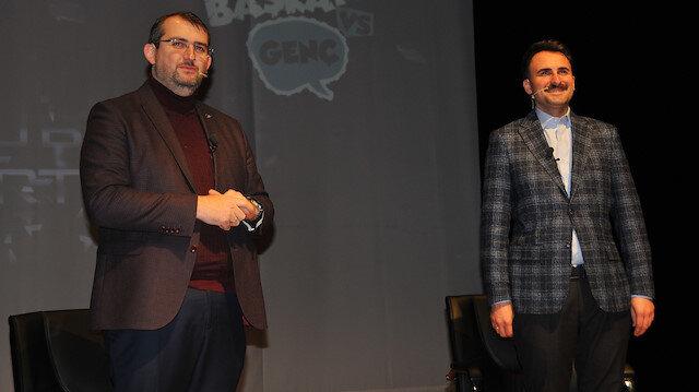 AK Parti Güngören Belediye Başkan Adayı Dr. Mimar Bünyamin Demir ve AK Parti Beylikdüzü Belediye Başkan Adayı Mustafa Necati Işık
