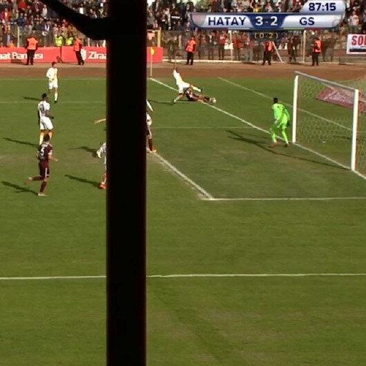 Hatayspor-Galatasaray maçında olay çıkartan karar
