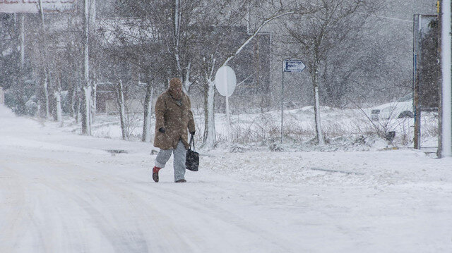 Meteoroloji'den 8 il için kar alarmı